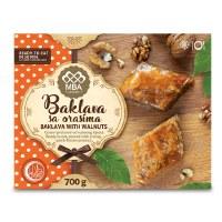 Bujrum Classic Baklava with Walnuts 700g F