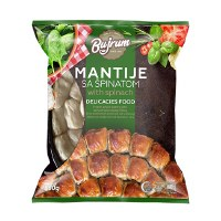 Bujrum Mantije Rolls Filled With Spinach and Cheese 850g F