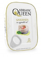 Adriatic Queen Sardines in Vegetable Oil 105g