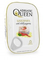 Adriatic Queen Sardines in Vegetable Oil and Chili Peppers 105g