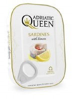 Adriatic Queen Sardines in Lemon and Vegetable Oil 105g