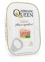 Adriatic Queen Tuna in Vegetable Oil 105g