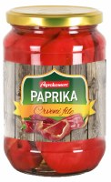 Agrokomerc Marinated Red Pepper Fillets 680g