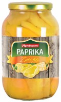 Agrokomerc Yellow Pepper Filets in Brine 2400g