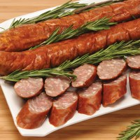 Andys Smoked Polish Sausage 16oz F