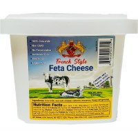 AP Global French Style Cow Milk Feta Cheese 800g R