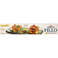 Apollo Phyllo Number 4 Pastry Sheets 1lb F