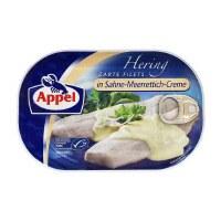 Appel Herring Fillets in Creamy Horseradish 200g