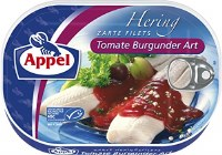 Appel Herring Fillets in Tomato Sauce with Red Wine 200g