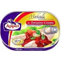 Appel Mackerel Fillets in Tomato Cream Sauce 200g
