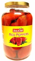 Balkan Whole Red Peppers 2.5L
