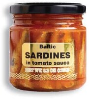 Baltic Gold Sardines in Tomato Sauce 175g R