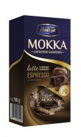 Baltyk Mokka Choclate Candies with Latte & Espresso Filling 180g