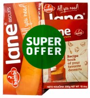 Bambi Lane Super Offer - Lane Ground 300g & Lane 300g & Cookbook
