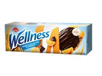 Bambi Wellness Orange and Dark Chocolate Cookies 205g
