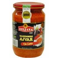 Biljana Deluxe Hot Ajvar 670g