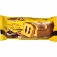 Boromir Cozonac with Chocolate and Hazelnut Cream 450g