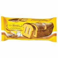Boromir Cozonac with Milk Cream Filling 450g