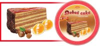 Bradic Dobos Cake Layers Kore 350g F