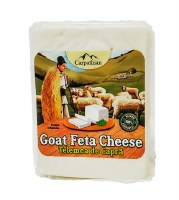 Carpathian Telemea Goat Feta Cheese Approx 0.75 lb PLU 52 R