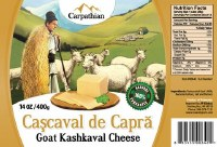 Carpathian Goat Cascaval Cheese 400g