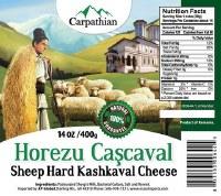Carpathian Horezu Cascaval Cheese 400g