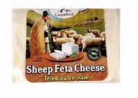 Carpathian Telemea Sheep Feta Cheese Approx .75 lb