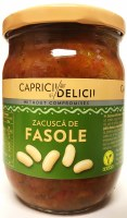 Caprici Delici Zacusca with Beans 500g