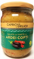 Caprici Delici Vegetable Spread with Eggplant and Peppers 500g