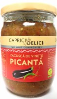 Caprici Delici Spicy Zacusca Vegetable Spread 500g
