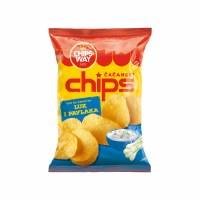 ChipsWay Sour Cream and Onion Flavored Chips 100g