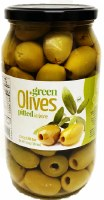 Chloe Green Olives Pitted 1kg