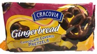 Cracovia Gingerbread Chocolate Covered Pretzels 400g