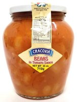 Cracovia Beans in Tomato Sauce 710g
