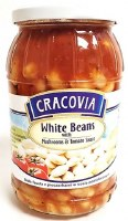 Cracovia White Beans with Mushroom and Tomato Sauce 900g