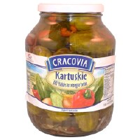 Cracovia Kartuskie Pickles 1620g