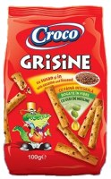 Croco Grisine with Sesame and Linseed 100g
