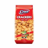 Croco Salted Crackers 400g