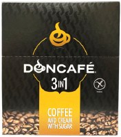 Doncafe Instant 3 in 1 Coffee and Cream with Sugar 24 Pouches x 16g