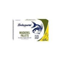Delamaris Mackerel in Extra Virgin Olive Oil 125g