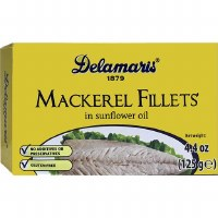 Delamaris Mackerel Fillet 125g