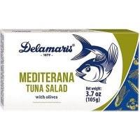 Delamaris Mediterranean Tuna Salad with Olives 105g