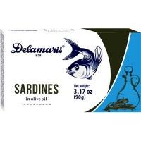 Delamaris Sardines in Olive Oil 90g