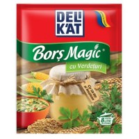 DeliKat Bors Magic with cu Verdeturi with Green Herbs and Dill 65g