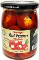 Domasen Red Pepper Stuffed With Cheese 580g