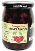 Domasen Whole Sour Cherries in Natural Syrup 20oz
