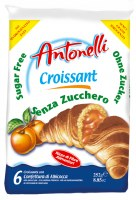 Antonellli Dora Sugar-Free Croissants with Apricot Filling 252g