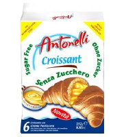 Antonelli Dora Sugar-Free Croissant with Cream Filling 252g