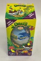 Elvan Chocolate Surprise Egg Dinosaur 70g