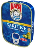 Eva Sardines in Olive Oil 115g